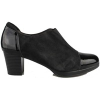 Schuhe Damen Low Boots Kroc BOTIN CHAROL NUBUCK BLACK