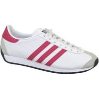 Schuhe Kinder Sneaker Low adidas Originals Country OG J Weiß
