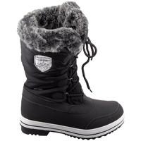 Schuhe Damen Stiefel Elementerre Pooley Noir Schwarz