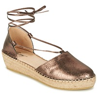 Schuhe Damen Sandalen / Sandaletten Betty London GIORDA Bronze