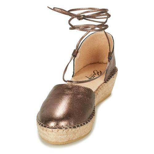 Betty London GIORDA / Bronze  Schuhe Sandalen / GIORDA Sandaletten Damen 51,99 a99e64