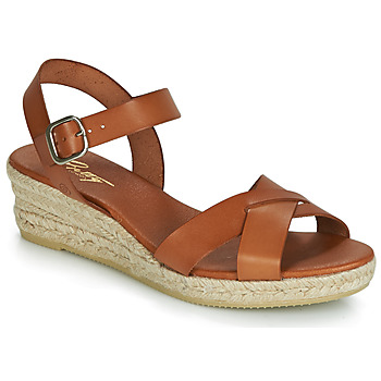 Schuhe Damen Sandalen / Sandaletten Betty London GIORGIA Camel