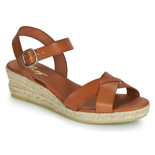 Betty London GIORGIA Camel  Schuhe Sandalen / Sandaletten Damen 51,99