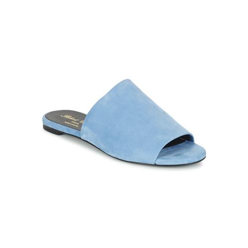 Robert Clergerie GIGY Blau Schuhe Pantoffel Damen 134,50