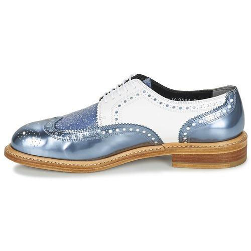Robert Clergerie ROELTM Blau / Weiss  Schuhe Derby-Schuhe Derby-Schuhe Derby-Schuhe Damen 262,50 e37a03