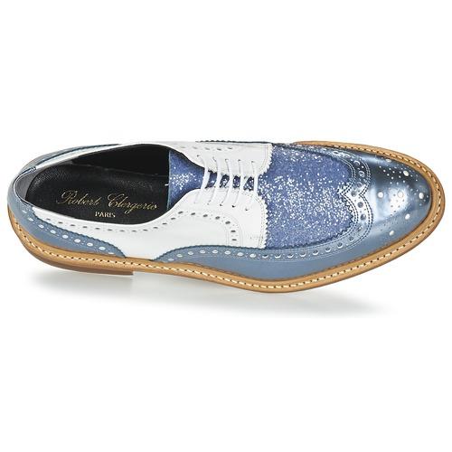 Robert Clergerie ROELTM Blau   Weiss    Schuhe Derby-Schuhe Damen 03af20
