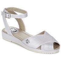Schuhe Damen Sandalen / Sandaletten Miss L'Fire HARLOW Silbern