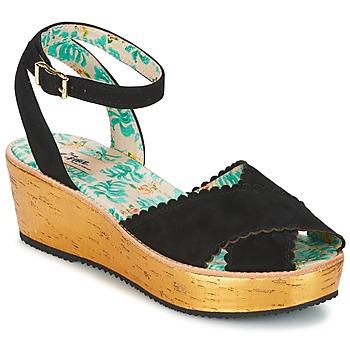 Schuhe Damen Sandalen / Sandaletten Miss L'Fire MARCIE Schwarz