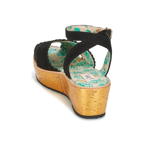 Miss L'Fire MARCIE Schwarz  Schuhe Sandalen / Sandaletten Damen 90