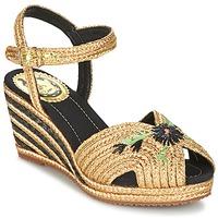 Schuhe Damen Sandalen / Sandaletten Miss L'Fire RENEE Gold