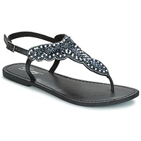 Schuhe Damen Sandalen / Sandaletten Betty London GRESA Schwarz