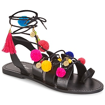 Schuhe Damen Sandalen / Sandaletten Betty London GELO Schwarz