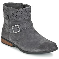 Schuhe Kinder Boots Timberland BRIXHAM FOLD DOWN BO Grau