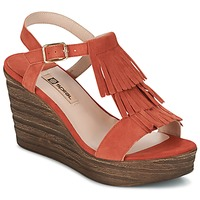 Schuhe Damen Sandalen / Sandaletten Spiral CARLA Orange