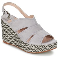 Schuhe Damen Sandalen / Sandaletten Spiral PAULA Grau