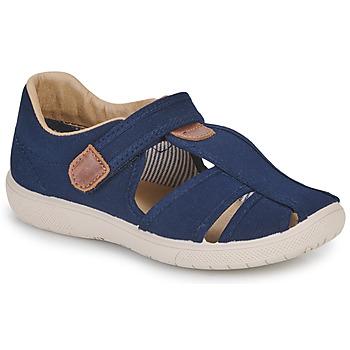 Schuhe Jungen Sandalen / Sandaletten Citrouille et Compagnie GUNCAL Marine