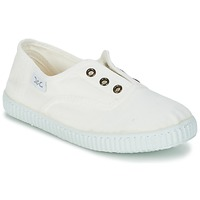 Schuhe Kinder Sneaker Low Citrouille et Compagnie GAMBOUTA Weiss
