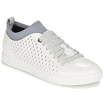 Schuhe Herren Sneaker Low Vivienne Westwood ORB ENAMELLED SNKER Weiss