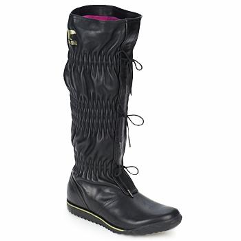 Schuhe Damen Klassische Stiefel Sorel FIRENZY Schwarz