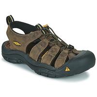 Schuhe Herren Sportliche Sandalen Keen NEWPORT Braun