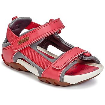 Schuhe Mädchen Sandalen / Sandaletten Camper OUS Rot