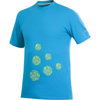 Kleidung Herren T-Shirts Craft Active Logo Run Tee Blau