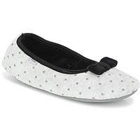 Schuhe Damen Hausschuhe DIM D FEERIDE Grau / Schwarz