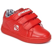 Schuhe Kinder Sneaker Low Freegun FG ULSPORT Rot / Weiss