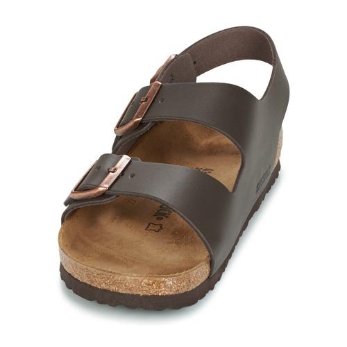 Birkenstock MILANO Braun Sandaletten - Schuhe Sandalen / Sandaletten Braun Herren 72,49 2b619d