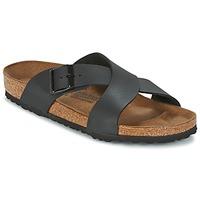 Schuhe Herren Pantoffel Birkenstock TUNIS Schwarz