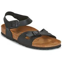 Schuhe Damen Sandalen / Sandaletten Birkenstock RIO Schwarz