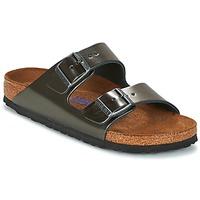 Schuhe Damen Pantoffel Birkenstock ARIZONA Anthrazit