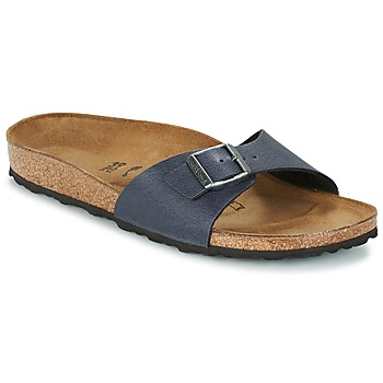 Schuhe Damen Pantoffel Birkenstock MADRID Marine