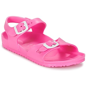 Schuhe Kinder Sandalen / Sandaletten Birkenstock RIO EVA Rose