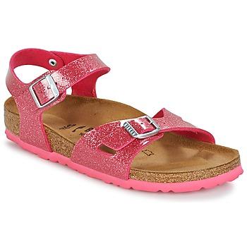 Schuhe Kinder Sandalen / Sandaletten Birkenstock RIO Rose