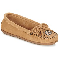 Schuhe Damen Slipper Minnetonka ME TO WE MOC Maulwurf