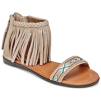 Schuhe Damen Sandalen / Sandaletten Minnetonka MOROCCO Maulwurf