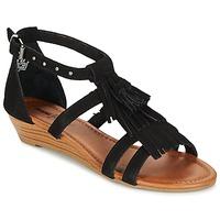 Schuhe Damen Sandalen / Sandaletten Minnetonka MARINA Schwarz