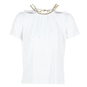 Kleidung Damen Tops / Blusen Versace Jeans B2HPB721 Weiss