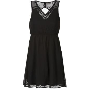 Kleidung Damen Kurze Kleider Vero Moda BIANCA Schwarz