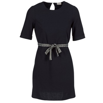 Kleidung Damen Kurze Kleider Vero Moda MILO SUKI Schwarz