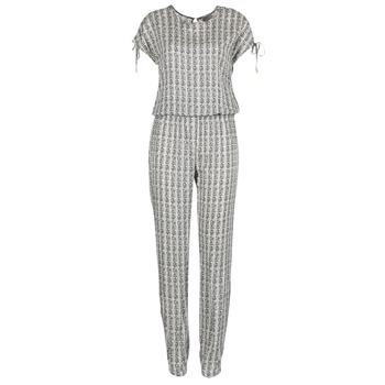 Kleidung Damen Overalls / Latzhosen Vero Moda NOW Weiss / Schwarz