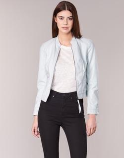 Kleidung Damen Lederjacken / Kunstlederjacken Vero Moda QUEEN Blau