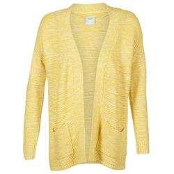Kleidung Damen Strickjacken Vero Moda GERDA Gelb
