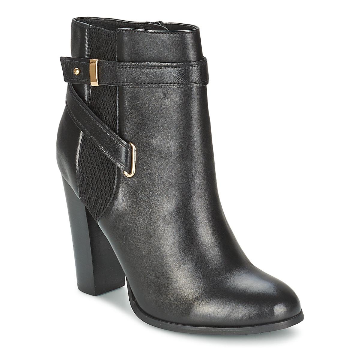 Aldo LAMPLEY Schwarz - Kostenloser Versand bei Spartoode ! - Schuhe Low Boots Damen 72,00 €