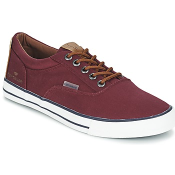 Schuhe Herren Sneaker Low Tom Tailor EXIBOU Bordeaux