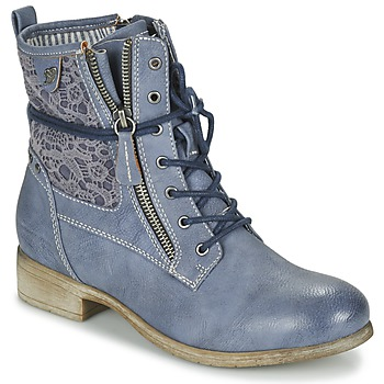 Schuhe Damen Boots Tom Tailor RELOUNI Blau