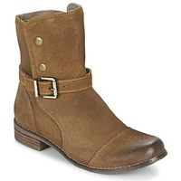 Schuhe Damen Boots Kdopa  Camel