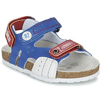 Schuhe Jungen Sandalen / Sandaletten Chicco HELIO Blau / Weiss / Rot
