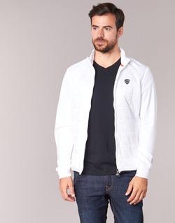 Kleidung Herren Jacken Emporio Armani EA7 GREEN CLUB Weiss